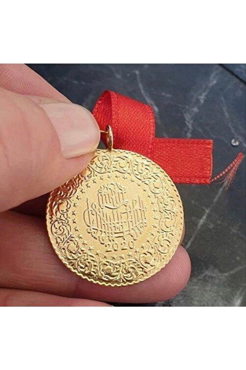 Yıldız Gold İmitasyon 22 Ayar Altın Kaplama 2021 Tarihli Çeyrek Altın Birebir 1