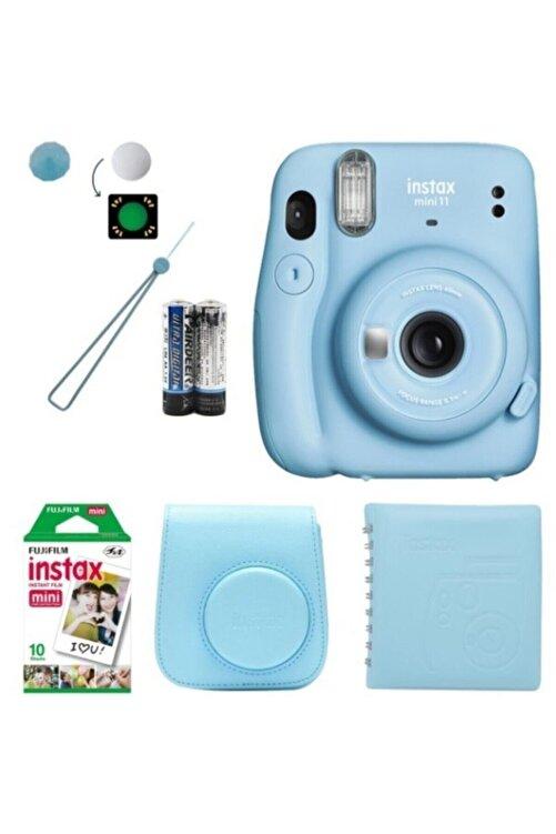 Fujifilm Instax Mini 11 Hediye Seti Mavi 1