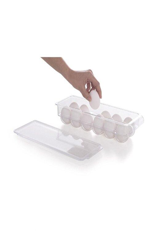 Prima Nova Kapaklı Yumurta Saklama Kabı Şeffaf 1