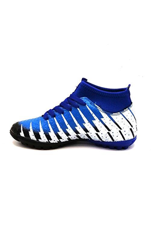 Lion 1453 Siyah Sax Çoraplı Halısaha Futbol Ayakkabısı 2
