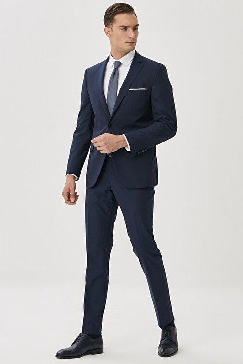 ALTINYILDIZ CLASSICS Erkek Lacivert Slim Fit Takım Elbise 2