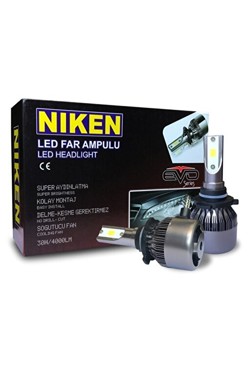 Niken Evo Led Xenon Zenon H7 6500k - Şimşek Etkili 1