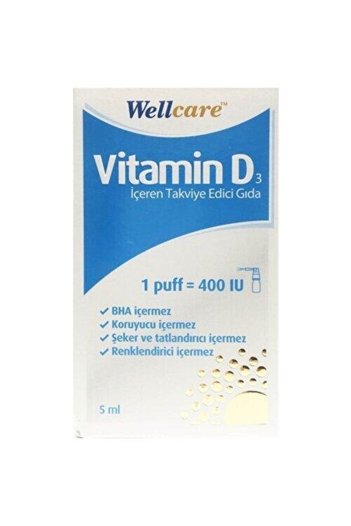 Wellcare Vitamin D3 400 Iu 5 ml Sprey 0 Vitamin D3 400 Iu 5 ml Sprey 1