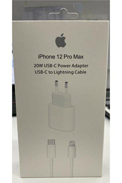 Cepsuar Iphone 11 12 Pro Uyumlu Yeni Nesil Hızlı 20 W Usb-c Şarj Adaptörü + Kablo (1m) 1