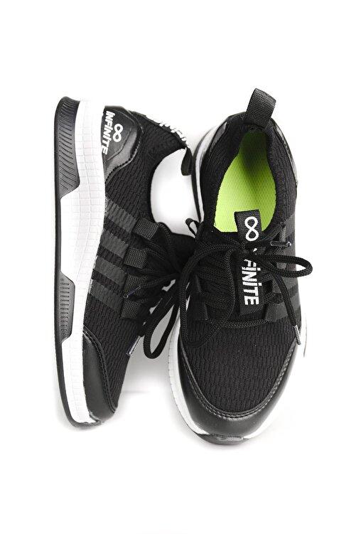 Oksit Alx Bucky Fileli Şerit Detaylı Çocuk Sneaker 1