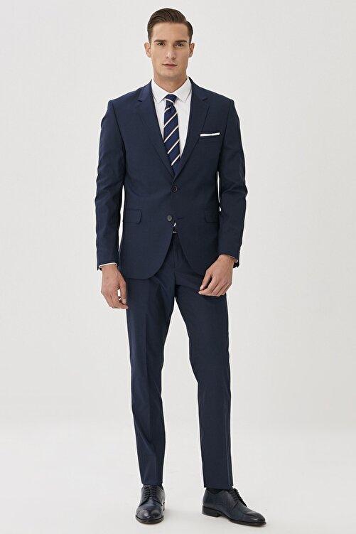 ALTINYILDIZ CLASSICS Erkek Lacivert Regular Fit Takım Elbise 2