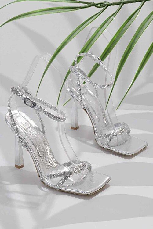 Bambi Lame Kadın Abiye Ayakkabı K05527250836 1