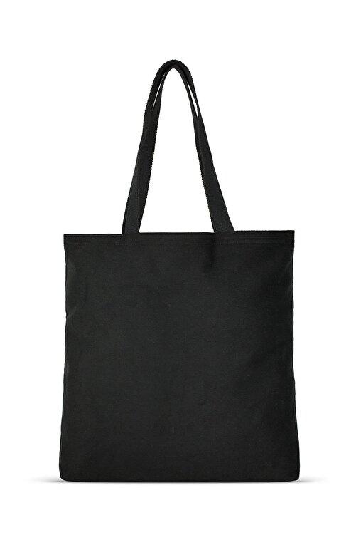 Çınar Bez Çanta Siyah Gabardin Bez Çanta | %100 Pamuk - C0216 1