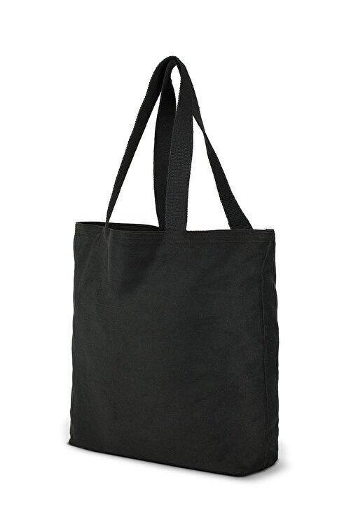 Çınar Bez Çanta Siyah Gabardin Bez Çanta | %100 Pamuk - C0216 2