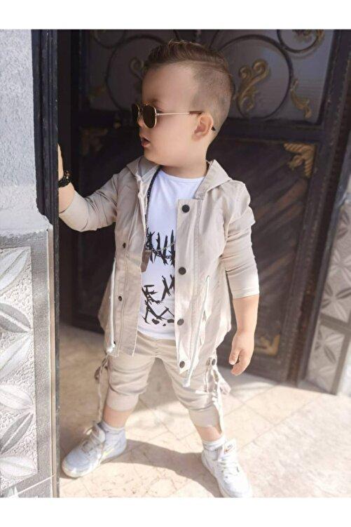 pamukşeker Erkek Çocuk Ceket ,pantolon ,tişört Seti 2