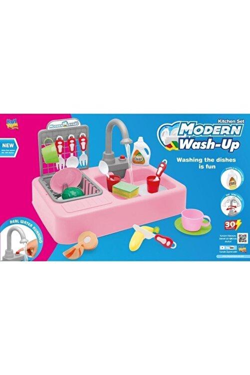 Kayyum Oyuncak Modern Lavabo Su Çeşme Oyuncak Gezegen Oyuncak Pembe 2