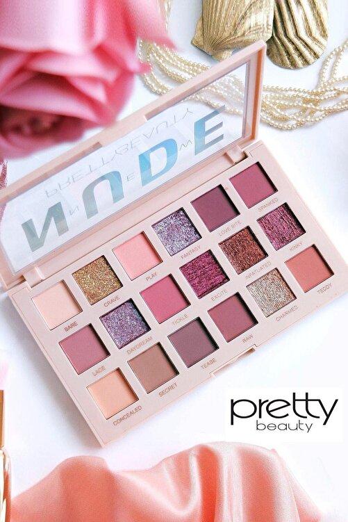 Pretty Beauty New Nude 18'li Göz Farı 2