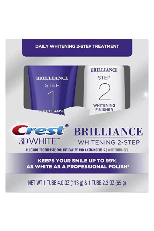 CREST 3d White Brilliance 2 Adımlı Diş Macunu 1