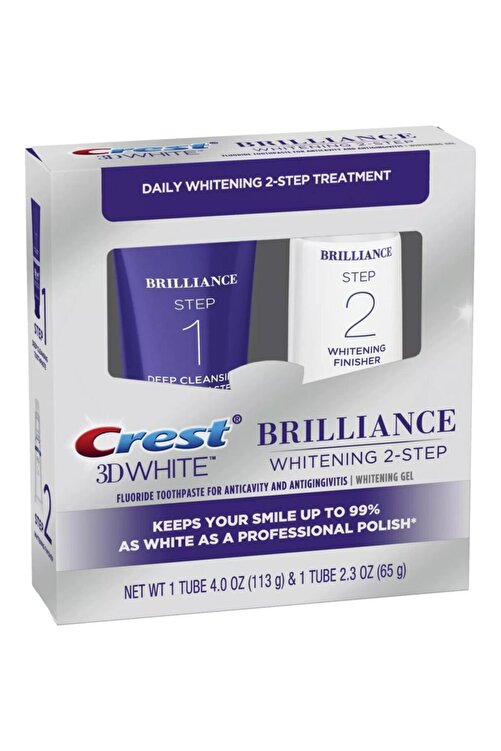 CREST 3d White Brilliance 2 Adımlı Diş Macunu 2