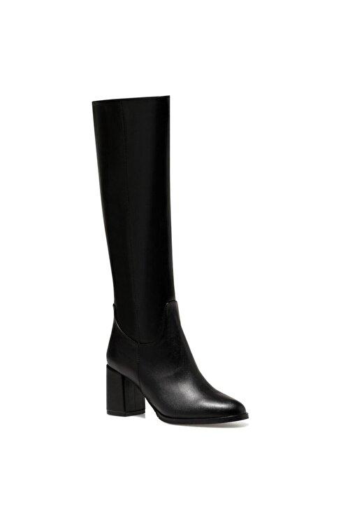 Nine West MASSA3 Siyah Kadın Ökçeli Çizme 100581295 2