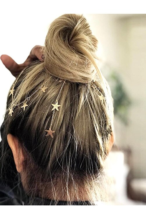 New Obsessions Kadın Aria Yıldızlı Saç Zinciri 1