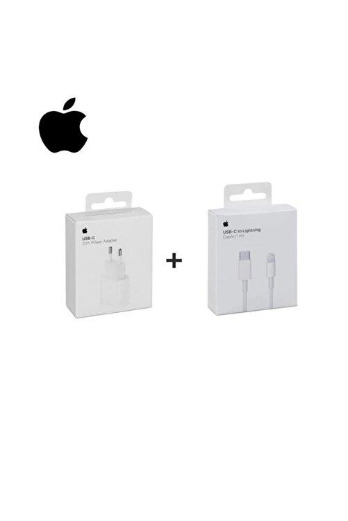 Cepsuar Macbook Ipad Iphone 11 / 12 - Pro Max Mini Uyumlu 20w Adaptör Kablo Usb-c Pd Hızlı Şarj Aleti 2