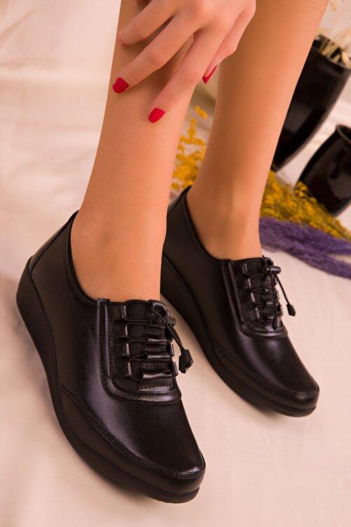SOHO Siyah Kadın Casual Ayakkabı 15490 1