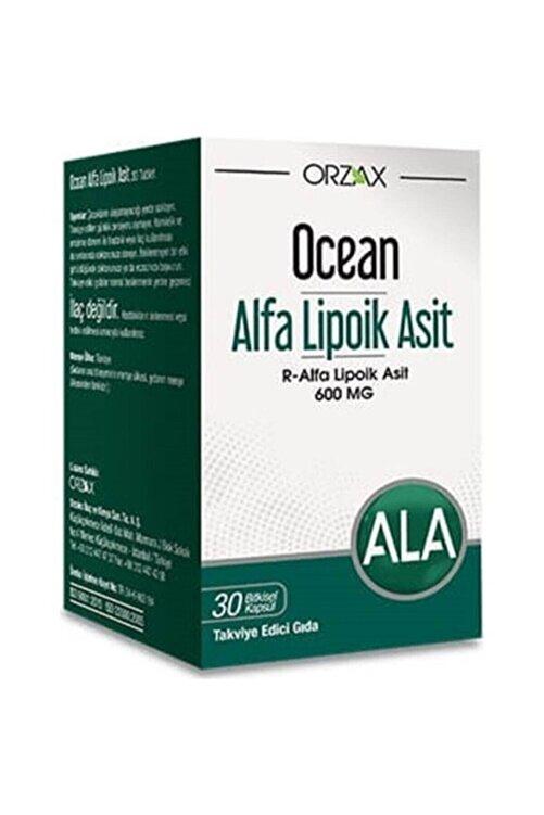 Ocean Alfa Lipoik Asit 600 Mg 30 Kapsül (miad 04/2023) 1