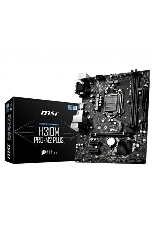 MSI H310M PRO-M.2 PLUS Intel H310 1151 Soket 2666MHz O.C. DDR4 USB 3.1 DVI&HDMI Anakart 1