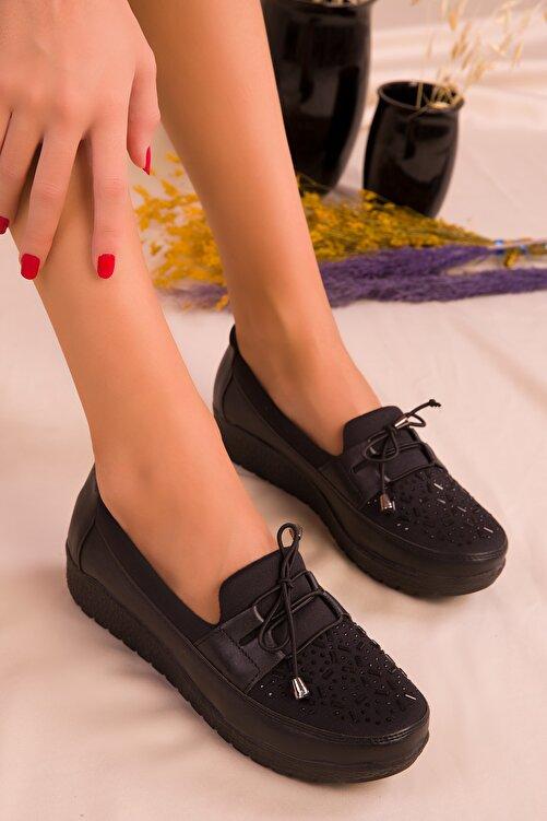 SOHO Siyah Kadın Casual Ayakkabı 15429 2
