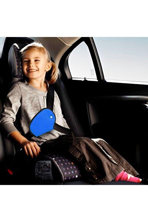 BE ACTİVE Çocuk Emniyet Kemeri Düzenleyici Tutucu (mavi Renk ) 1