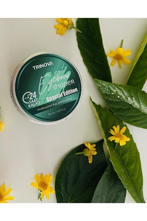 Trinova Coconut Oil Destekli Kaş Sabitleyici Wax 50ml 1