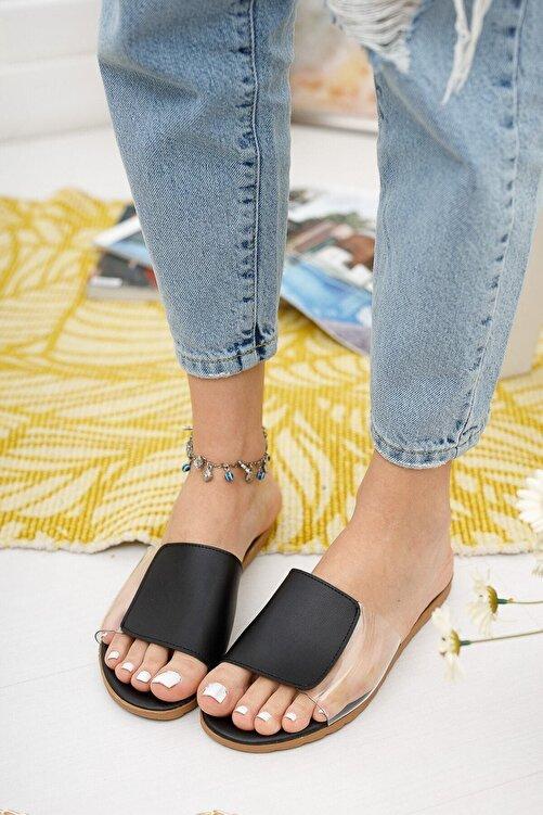 Ekol Ayakkabi Kadin Yanı Şeffaf Terlik 2