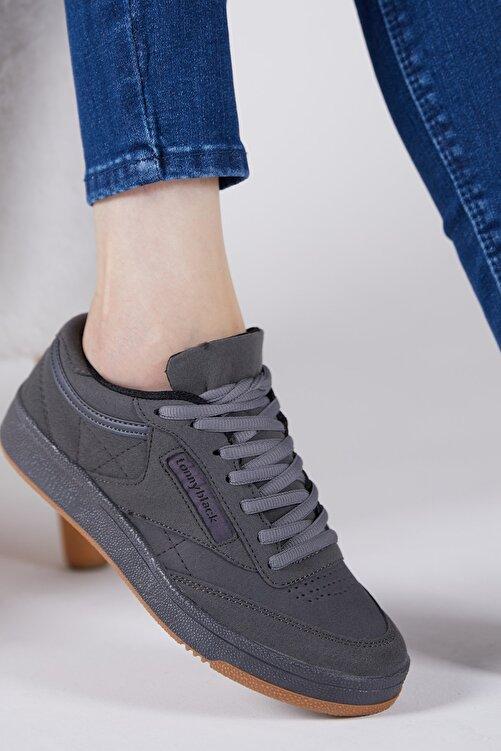 Tonny Black Unisex Füme  Sneaker TB107-0 1