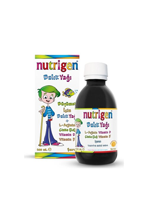 Nutrigen Balık Yağı Şurup 200 ml 1