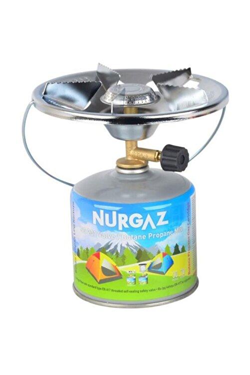 NURGAZ Olympos Kamp Ocak + 450gr Kartuş 1