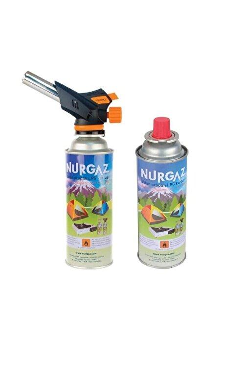 NURGAZ Firebird Torch Pürmüz+2 Adet 220 gr Kartuş Tüp 1