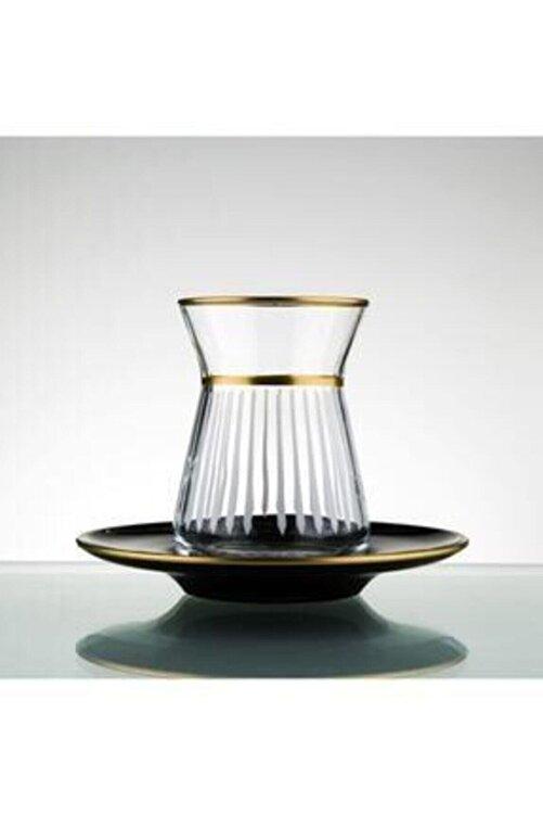 Paşabahçe Lazer Yapımı 12 Parça 6 Kişilik Çay Seti 1