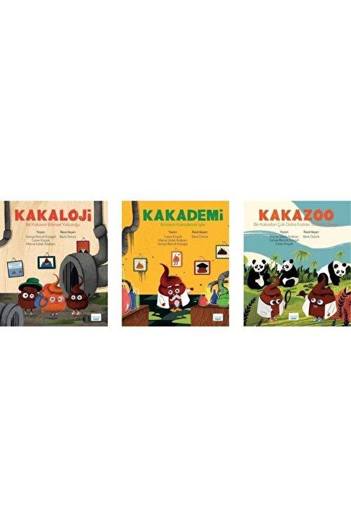 ELMA Yayınevi Kakaloji / Kakademi / Kakazoo 3 Kitap Set 1