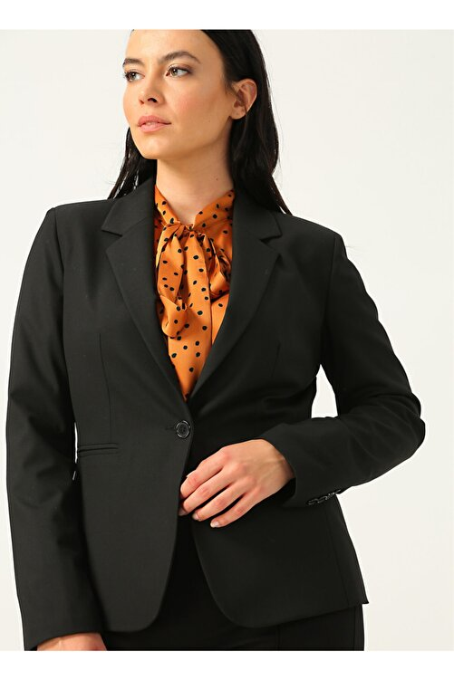 Ekol 6041 Siyah Kadın Ceket 1