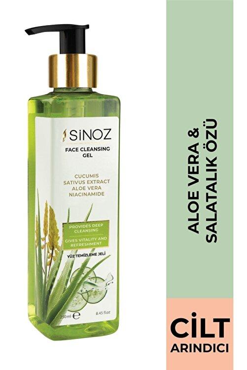 SİNOZ Arındırıcı Besleyici Yüz Temizleme Jeli 250 ml 1