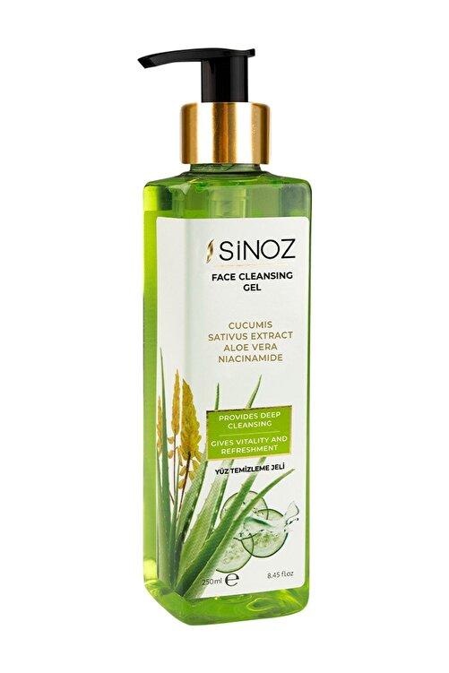 SİNOZ Arındırıcı Besleyici Yüz Temizleme Jeli 250 ml 2