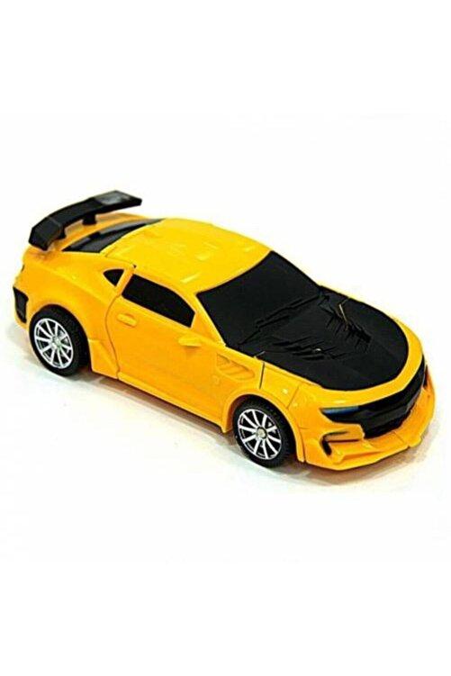 Can Ali Toys Transformers Bumblebee Dönüşebilen Robot Araba Oyuncak 2