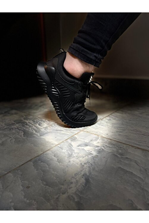 Odal Shoes Erkek Siyah Unisex Sneaker Spor Ayakkabı Takax0132 1