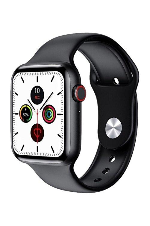 X-GEAR W26+ Watch 6 Plus Yeni Nesil Siyah Türkçe Akıllı Saat Son Sürüm Yan Tuş Aktif 1
