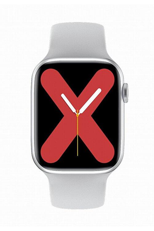 X-GEAR W26+ Watch 6 Plus Yeni Nesil Beyaz Türkçe Akıllı Saat Son Sürüm Yan Tuş Aktif 2