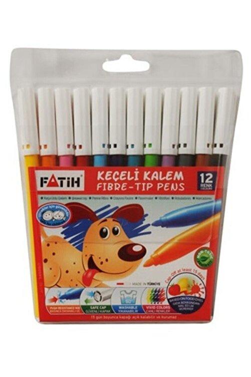 Fatih Keçeli Boya Kalemi 12 Renk 1