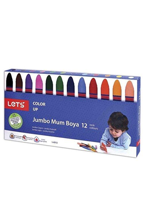 Lets 12 Renk Mum Boya L-6512 Kampanyalı 1