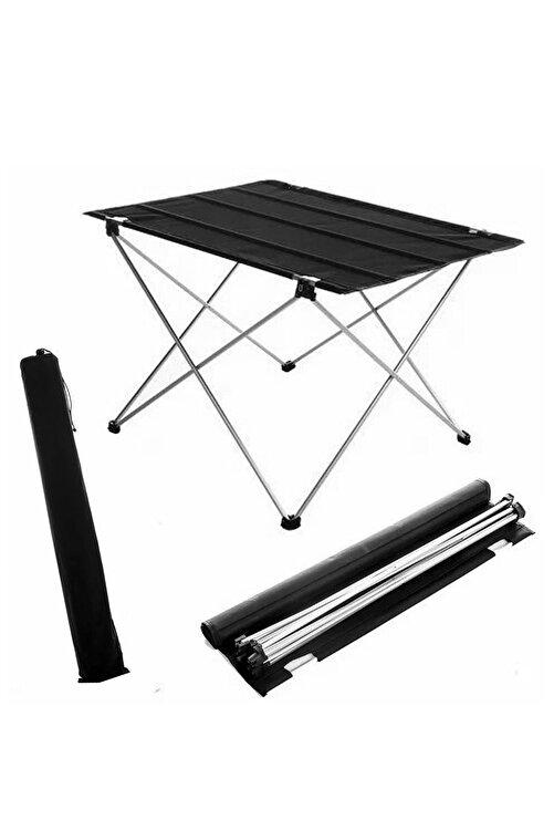 Bundera Katlanabilir Masa Piknik Çok Amaçlı Kamp Masası Taşıma Çantalı 73x55x48 Cm 1