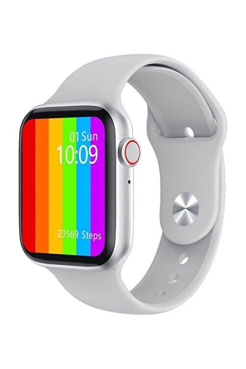 X-GEAR W26+ Watch 6 Plus Yeni Nesil Beyaz Türkçe Akıllı Saat Son Sürüm Yan Tuş Aktif 1