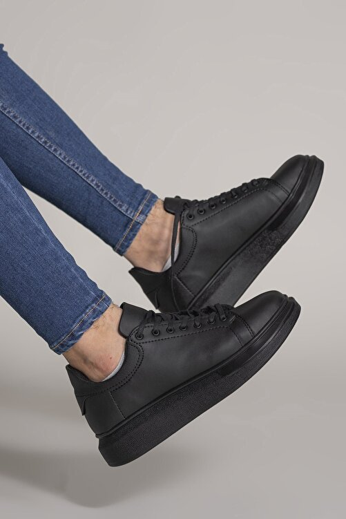 Riccon Erkek Siyah  Sneaker 1