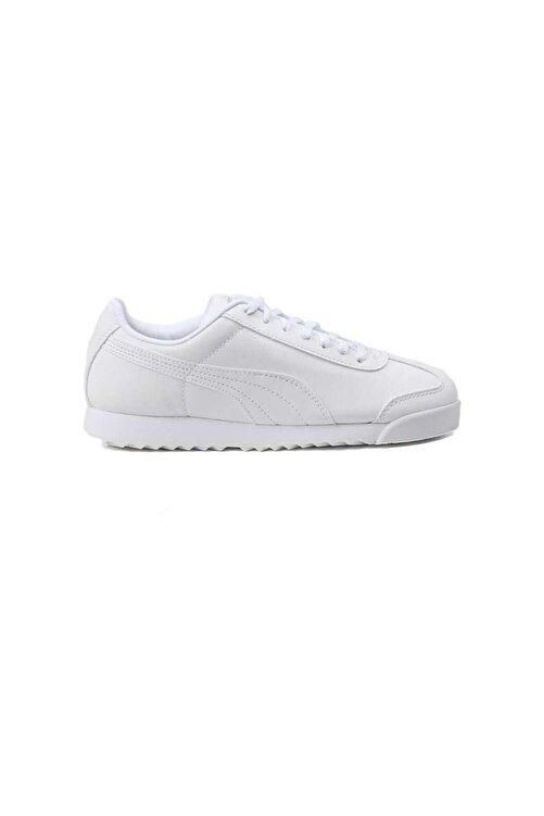 Puma Kadın Roma Basic Beyaz Günlük Spor Ayakkabı 354259141 1