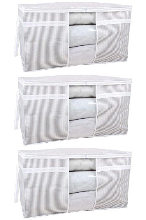 ESTİ 3 Adet - Pencereli Yastık Yorgan Hurcu 75 X 40 X 40 Cm 1
