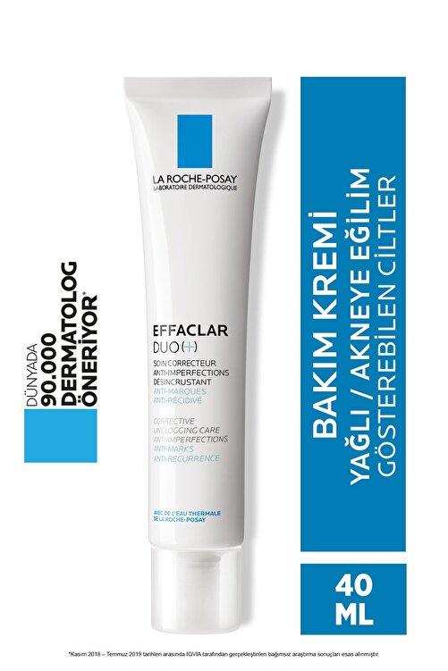 La Roche Posay Effaclar Duo(+) Bakım Kremi Cilt Kusuru Görünümü Karşıtı Akneye Eğilim Gösteren Ciltler 40 ml 1