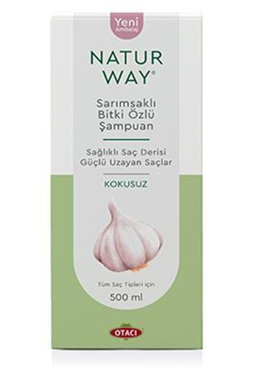 Otacı Naturway Sarımsaklı Şampuan Kokusuz 500 ml 1